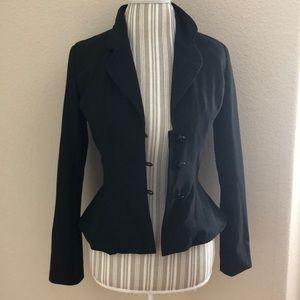 Isaac Mizrahi Black Blazer Size 2